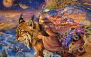 华丽幻想艺术 天国的天国 壁纸16 华丽幻想艺术:天国的 绘画壁纸
