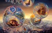 华丽幻想艺术 天国的天国 壁纸17 华丽幻想艺术:天国的 绘画壁纸