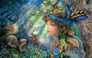华丽幻想艺术 天国的天国 壁纸19 华丽幻想艺术:天国的 绘画壁纸