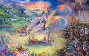 华丽幻想艺术 天国的天国 壁纸20 华丽幻想艺术:天国的 绘画壁纸