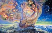 华丽幻想艺术 天国的天国 壁纸21 华丽幻想艺术:天国的 绘画壁纸