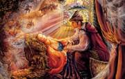 华丽幻想艺术 天国的天国 壁纸25 华丽幻想艺术:天国的 绘画壁纸
