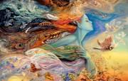 华丽幻想艺术 天国的天国 壁纸27 华丽幻想艺术:天国的 绘画壁纸