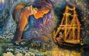 华丽幻想艺术 天国的天国 壁纸28 华丽幻想艺术:天国的 绘画壁纸