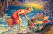 华丽幻想艺术 天国的天国 壁纸31 华丽幻想艺术:天国的 绘画壁纸