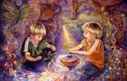华丽幻想艺术 天国的天国 壁纸32 华丽幻想艺术:天国的 绘画壁纸