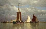 伦敦画廊帆船 1 19 伦敦画廊帆船 绘画壁纸