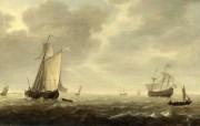 伦敦画廊帆船 1 18 伦敦画廊帆船 绘画壁纸