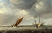伦敦画廊帆船 1 14 伦敦画廊帆船 绘画壁纸