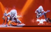 Iron Maiden 重金属乐队专辑插画壁纸 A Real Live One Iron Maiden 重金属乐队专辑插画壁纸 Iron Maiden 重金属乐队专辑插画壁纸 绘画壁纸