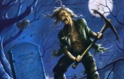 Iron Maiden 重金属乐队专辑插画壁纸 Benjamin Breeg Iron Maiden 重金属乐队专辑插画壁纸 Iron Maiden 重金属乐队专辑插画壁纸 绘画壁纸