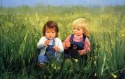 金色童年 二 法国画家 Donald Zolan 儿童水彩画集 好朋友 童年生活水彩画图片 金色童年儿童水彩画壁纸二 绘画壁纸