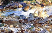John Singer Sargent 约翰・辛格・萨金特油画三 绘画壁纸