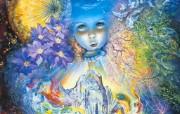 Child of the Universe Josephine Wall 华丽奇幻插画 Josephine Wall 天国精灵华丽幻想插画第二集 绘画壁纸
