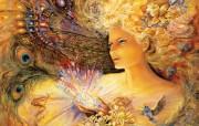 Crystal of Enchantment Josephine Wall 华丽奇幻插画 Josephine Wall 天国精灵华丽幻想插画第二集 绘画壁纸