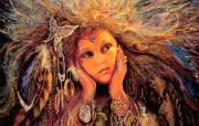 Magpie Fairy Josephine Wall 华丽奇幻插画 Josephine Wall 天国精灵华丽幻想插画第二集 绘画壁纸