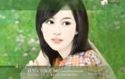 清纯美女 浪漫小说手绘美女 浪漫爱情小说美女壁纸第十四辑 绘画壁纸