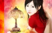 浪漫言情小说手绘美女壁纸 壁纸9 浪漫言情小说手绘美女 绘画壁纸