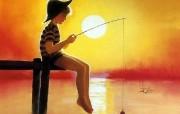 令人怀念的美好童年油画壁纸 壁纸1 令人怀念的美好童年油 绘画壁纸