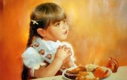 令人怀念的美好童年油画壁纸 壁纸14 令人怀念的美好童年油 绘画壁纸