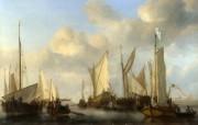 伦敦画廊帆船 2 18 伦敦画廊帆船 绘画壁纸