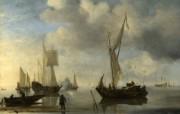 伦敦画廊帆船 2 16 伦敦画廊帆船 绘画壁纸