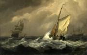 伦敦画廊帆船 2 14 伦敦画廊帆船 绘画壁纸