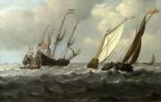 伦敦画廊帆船 2 11 伦敦画廊帆船 绘画壁纸