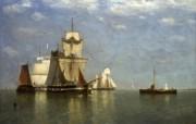 伦敦画廊帆船 2 1 伦敦画廊帆船 绘画壁纸