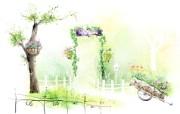 美丽的幻想世界 宽屏壁纸 描绘风格 二 壁纸7 美丽的幻想世界 宽屏 绘画壁纸