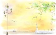 美丽的幻想世界 宽屏壁纸 描绘风格 二 壁纸13 美丽的幻想世界 宽屏 绘画壁纸