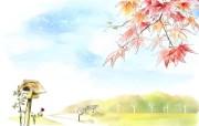 美丽的幻想世界 宽屏壁纸 描绘风格 二 壁纸24 美丽的幻想世界 宽屏 绘画壁纸