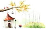 梦幻风光 11 5 梦幻风光 绘画壁纸