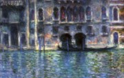 印象派画家 壁纸 Claude Monet Palazzo da Mula Venice 1908 1600 1200 莫奈 Claude Monet 绘画作品 绘画壁纸