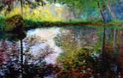 印象派画家 壁纸 西方古典绘画 莫奈风景油画壁纸 1600 1200 莫奈 Claude Monet 绘画作品 绘画壁纸