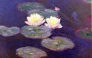印象派画家 壁纸 莫奈油画壁纸 睡莲 Water Lilies 1600 1200 莫奈 Claude Monet 绘画作品 绘画壁纸