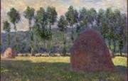 印象派画家 壁纸 Haystacks 干草堆 莫奈绘画壁纸 1600 1200 莫奈 Claude Monet 绘画作品 绘画壁纸