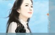 共670张 illustrated sweet girls on romance novel cover 清纯手绘美女插画壁纸 第十八辑 绘画壁纸