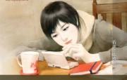 共670张 看谁先结婚 爱情小说美女手绘壁纸 清纯手绘美女插画壁纸 第十八辑 绘画壁纸