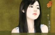 共670张 清纯手绘美女 手绘桌面壁纸 清纯手绘美女插画壁纸 第十八辑 绘画壁纸
