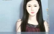 共670张 手绘美女 言情小说清纯美女插画 清纯手绘美女插画壁纸 第十八辑 绘画壁纸