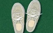 球鞋 日本风情手工布艺贴画图片 日本风情手工布艺画秋冬篇 绘画壁纸