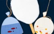 日本风情手工布艺画 春夏篇 夏日主题 日本风情手工布艺贴画图片 日本风情手工布艺贴画春夏篇 绘画壁纸