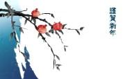 墨染-新年 1 5 墨染-新年 绘画壁纸