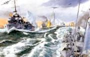 手绘战争 绘画壁纸
