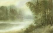 水彩风景壁纸 壁纸3 水彩风景壁纸 绘画壁纸