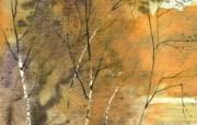 水彩风景壁纸 壁纸10 水彩风景壁纸 绘画壁纸