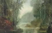 水彩风景壁纸 壁纸20 水彩风景壁纸 绘画壁纸