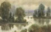 水彩风景壁纸 壁纸23 水彩风景壁纸 绘画壁纸