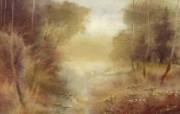水彩风景壁纸 壁纸24 水彩风景壁纸 绘画壁纸